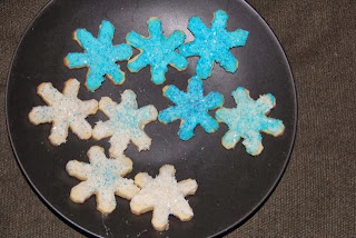 snow flake sugar cookies