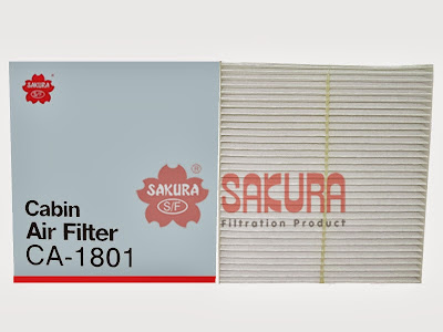 Cabin Air Filter - Filter AC Nissan : X-Trail, Serena, Teana