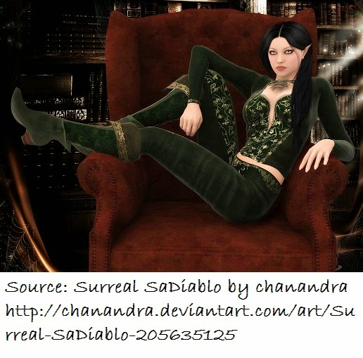 Surreal SaDiablo by chanandra on DeviantArt