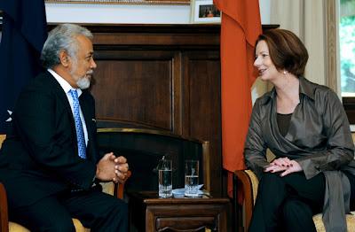PM australiana diz que país vai continuar a apoiar Timor-Leste