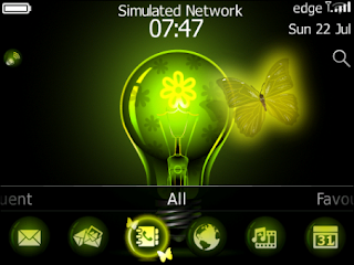Butterfly Neon OS 7