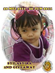 """Syilasyira 2nd Giveaway"""