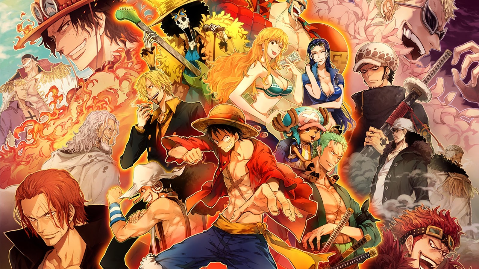Anime Characters One Piece : Dressrosa one piece anime zoom wallpapers
