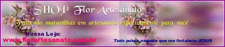 VISITE MINHA LOJA > SHOP Flor Artesanato