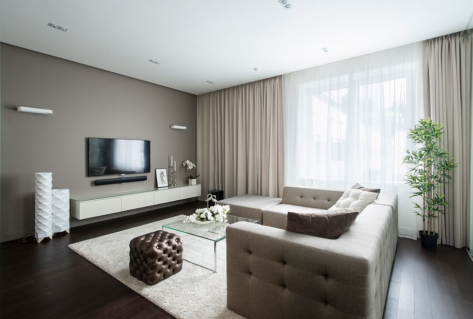 Blog wn trzarski design nowoczesne projekty wn trz for 60m2 apartment design