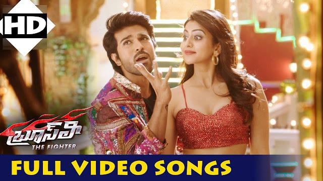 BruceLee - TheFighter Telugu Movie Full Video Songs | Ram Charan | Rakul Preet Singh