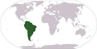 América del Sur: Localización Geográfica