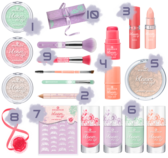 Preview - essence Bloom Me Up - limitierte Kollektion (LE) - März 2014