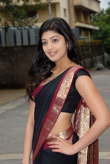 Pranitha Showing Navel Pics