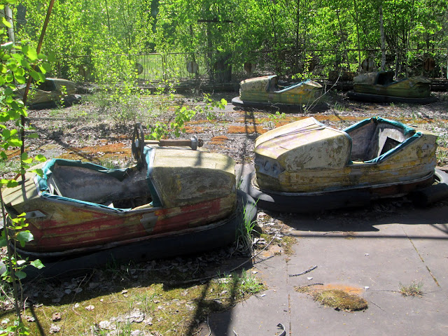 Coches de Choque en Chernobyl