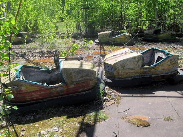 Coches de Choque en Chernobyl