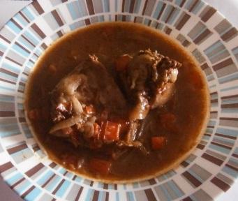 Gastronom a en casa conejo en salsa - Casa conejo ...