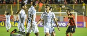 Vitória 2 x 3 Santos: Veja os gols