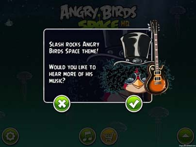 SLASH Make Songs For Angry Birds