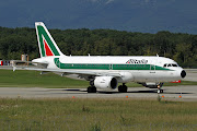 EIIME / Airbus A319112 / Alitalia. Rolf NyffelerGenf13.08.201111: . (alitalia airbus ei ime net)