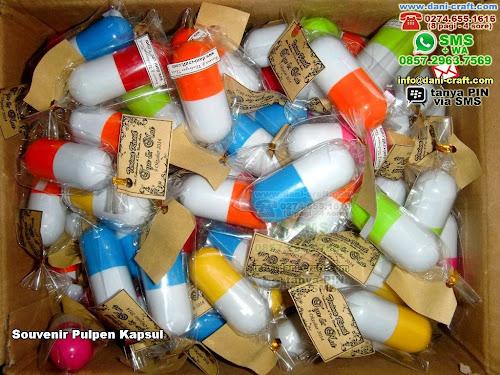 Souvenir Pulpen Kapsul Plastik Ambon