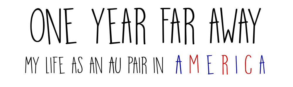 one year far away - my life as an au pair in america