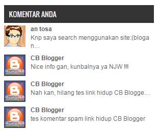 Komentar plus Gambar (Thumbnail) for Blogger
