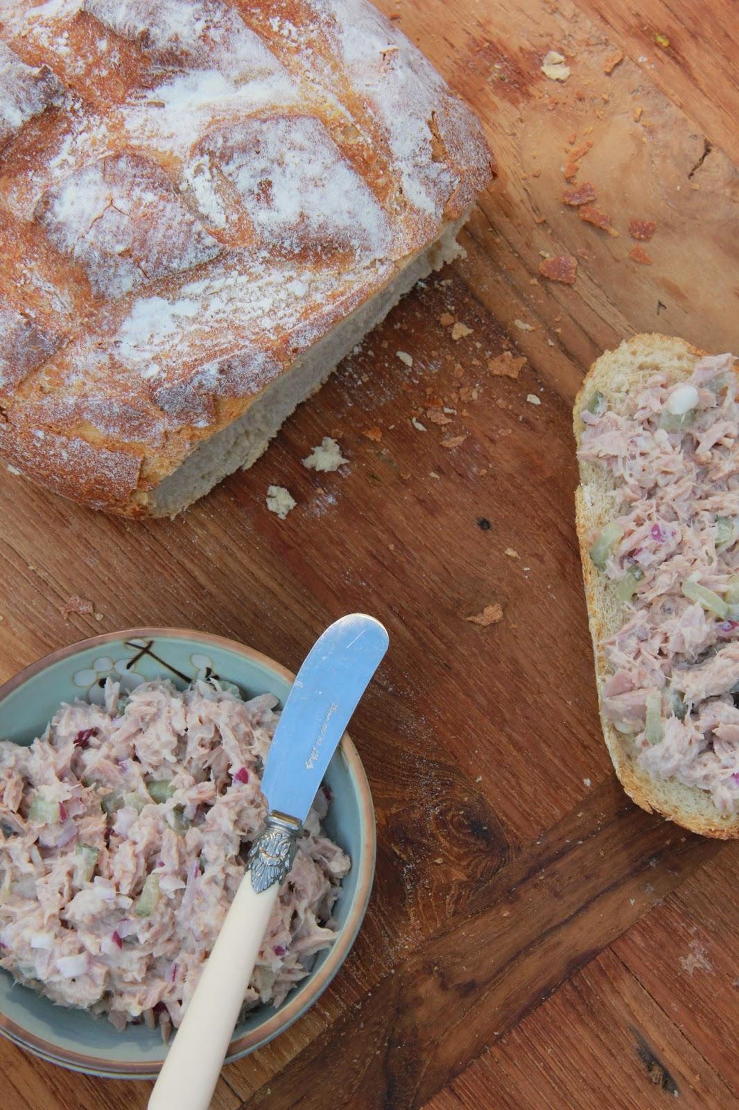 Gezonde tonijnsalade - www.desmaakvancecile.com