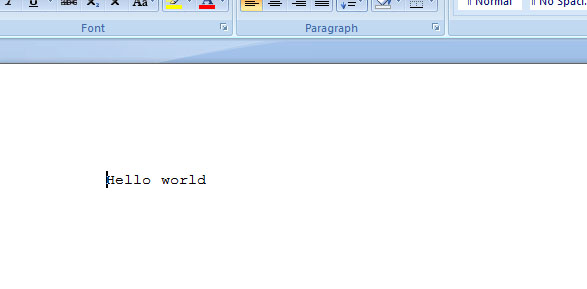 Create MS Word Document Using ASPNet