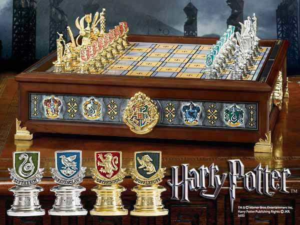 Ajedrez harry potter casas de quidditch merchandising - Harry potter casas ...