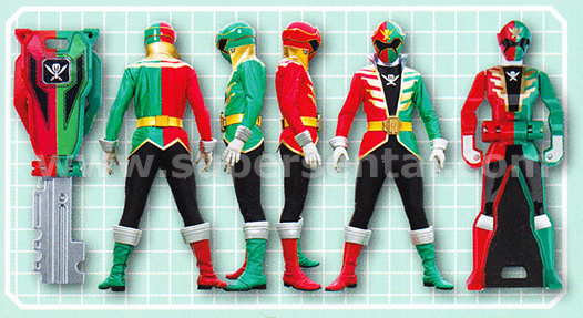Henshin Grid: Gokaiger Book Scans