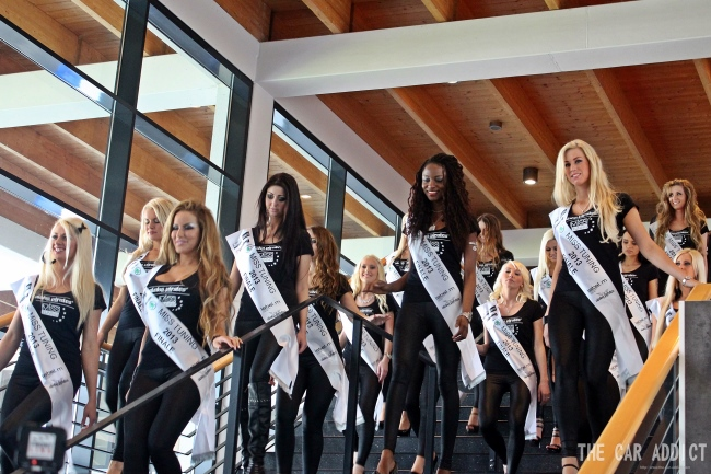 2013 MISS TUNING Finalists around TUNING WORLD Bodensee on May 9th