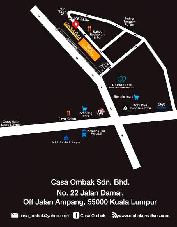 Buffet Ramadhan Casa Ombak, Ombak Creative, catering, events planner, wedding planner, buffet murah sedap