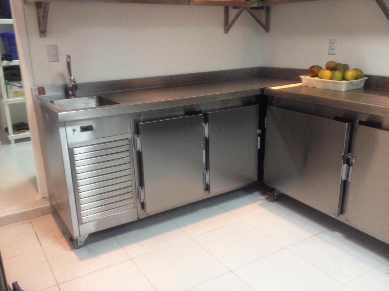Ideal Cozinhas Industriais: Bancada Refrigerada #7E674D 1280 960