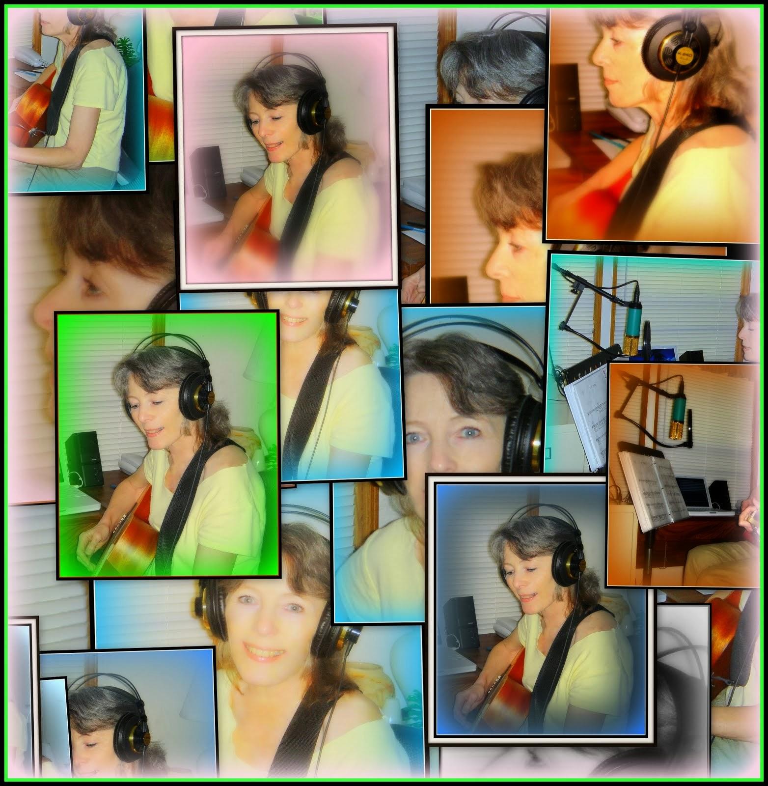 Patty In The Studio