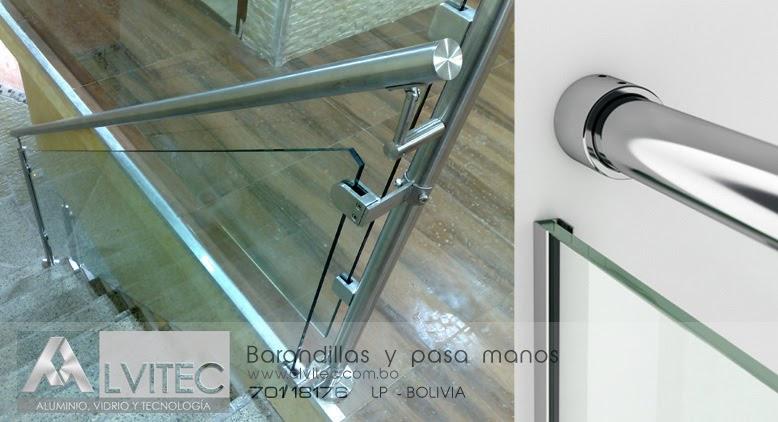 Barandillas de aluminio y vidrio alvitec aluminio - Barandilla de aluminio ...