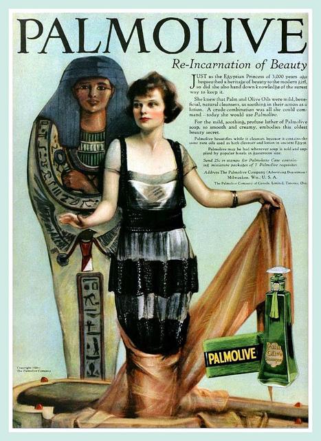 image: Palmolive: Wash Like A 3,000 Year Old Egyptian Princess