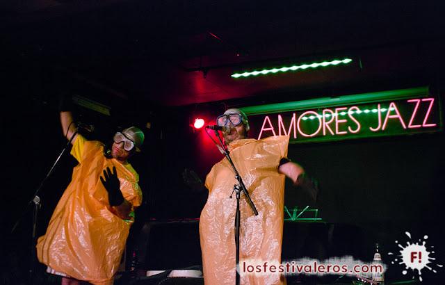 Mundo Idiota, 2015, Festival, Die Scaphandra, concierto