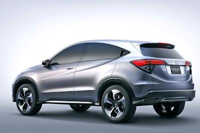 Honda Urban SUV Concept at Detroit Motor Show 2013
