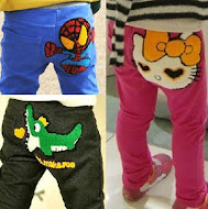 Cute Cartoon Pants