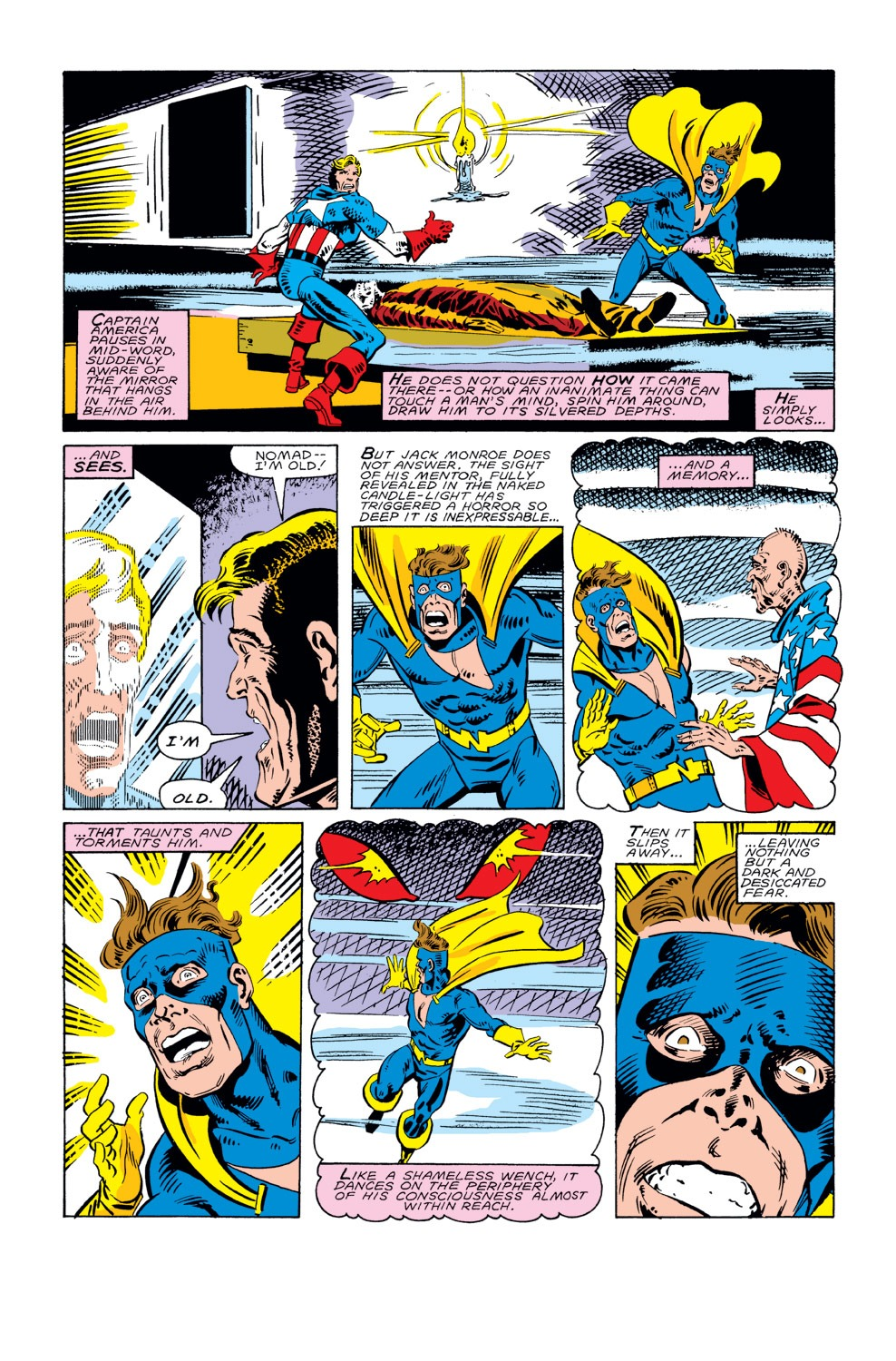 Captain America (1968) Issue #296 #224 - English 9