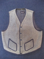 40's               UNUSUAL COLOR               BROWNS BEACH VEST               × WESSNER INC.