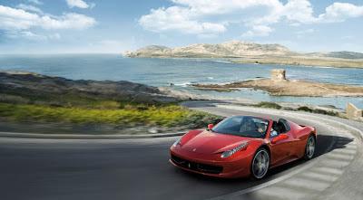 Foto Ferrari rojo