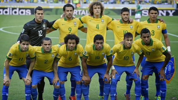 skuad brazil pada piala dunia 2014