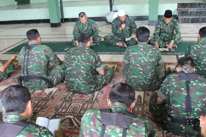 Kodim 0508/Depok Doakan Kelancaran Tim Ton Tangkas Kodam Jaya