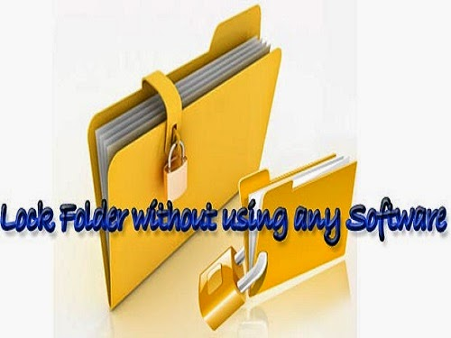 How to Lock a Folder without Software