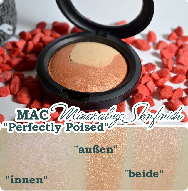 Review MAC Divine Night Holiday Collection 2013 - Mineralize Skinfinish PERFECTLY POISED