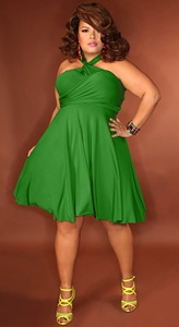 Cute plus size spring dresses « Clothing for large ladies