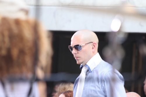 Pitbull for 'Men in Black 3' Theme Song