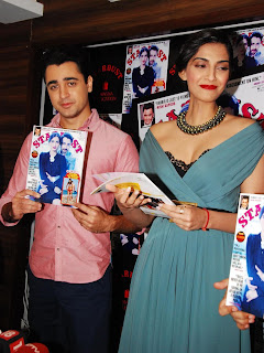 Sonam Kapoor and Imran Khan Launches Stardust Magazine (6).JPG