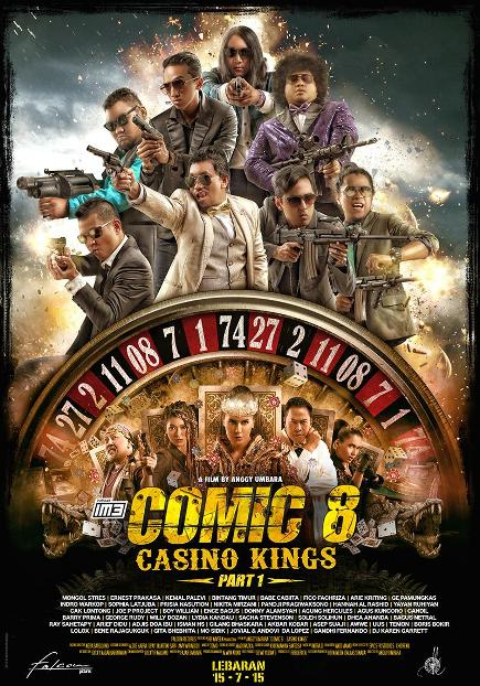 """Comic 8: Casino Kings Part 1 (2015)"" movie review by Glen Tripollo"