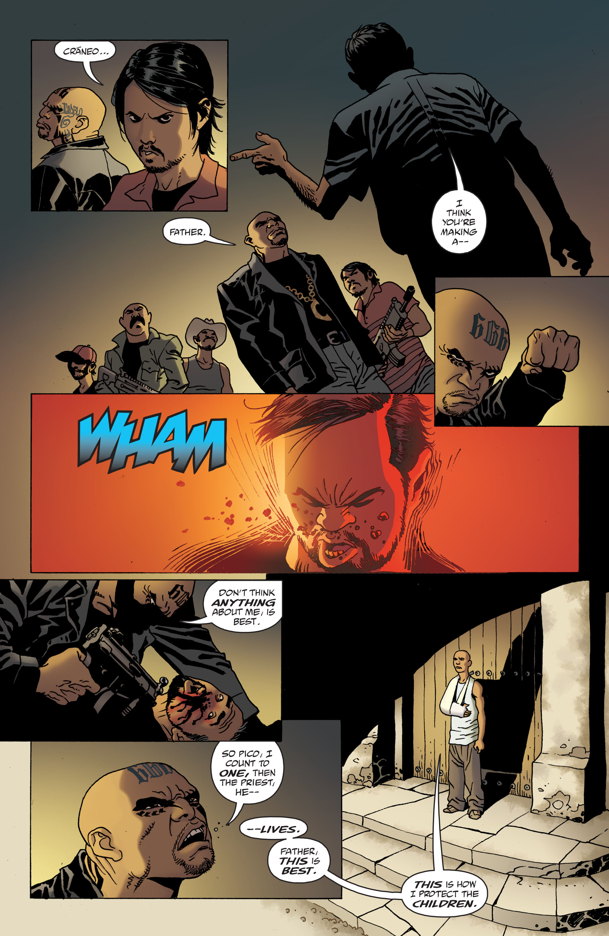 100 Bullets: Brother Lono Full Page 133