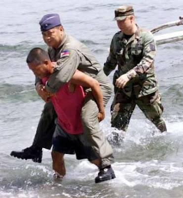 Filipino general was being carried