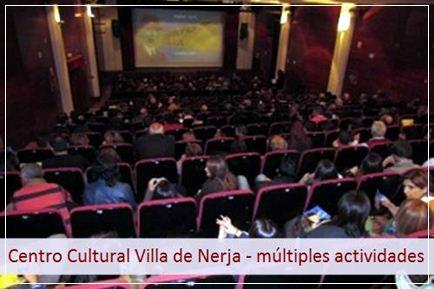 Podrá disfrutar de las actividades del Centro Cultural Villa de Nerja