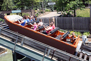 Kings Island Son of Beast-Kings Island The Beast Roller Coaster